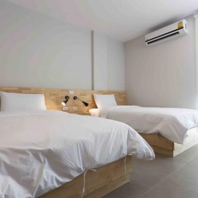 ห้องเตียงคู่ 4 - Easyhotel Lamphun อีซี่โฮเทล ลำพูน